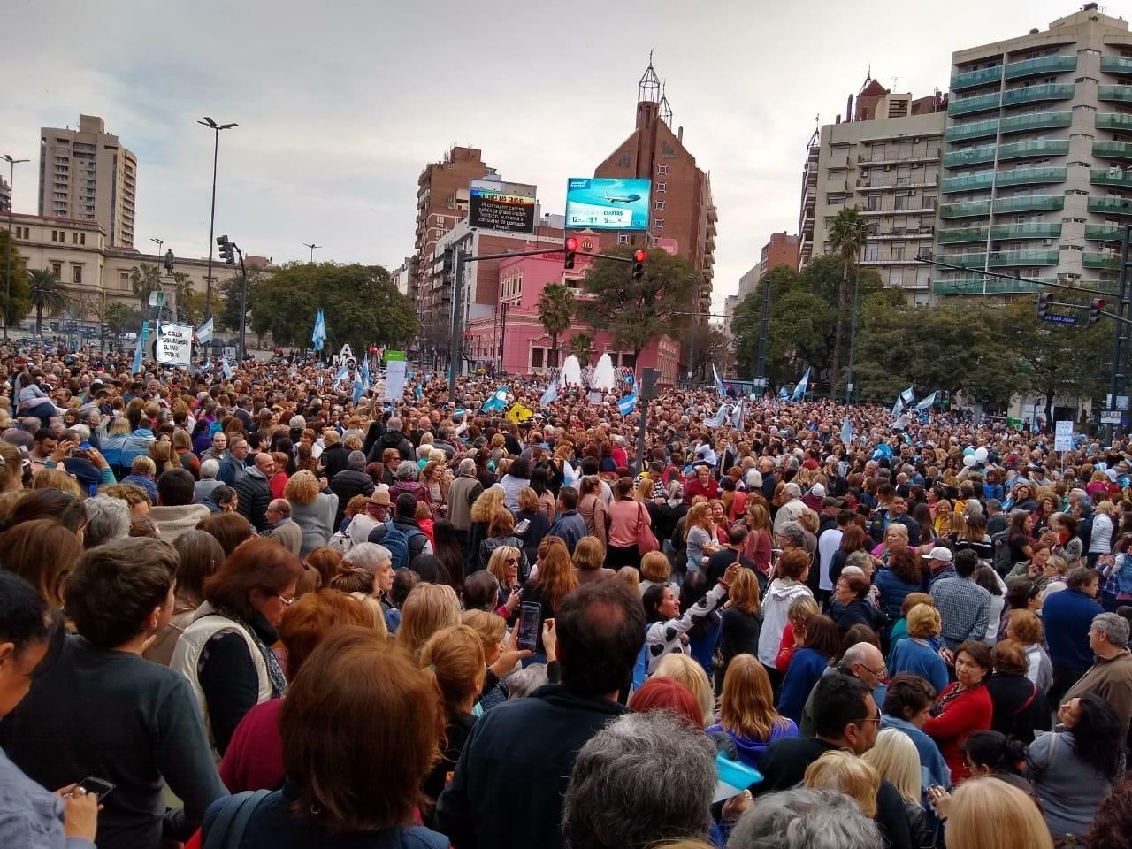 Marcha en Córdoba